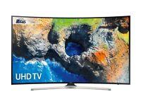 SAMSUNG 49 CURVED SMART UHD 4K HDR 1300PQI INBUILT WIFI FREEVIEW HD