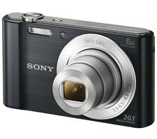 Sony Cyber-shot DSCW810B Compact Digital Camera 20.1 megapixels 720p video Black