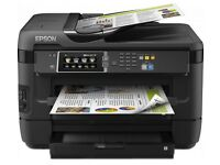 NEW EPSON Workforce WF-7620 DTWF All-in-One Wireless A3 Inkjet Printer -NEVER USED-RECEIPT PC WORLD