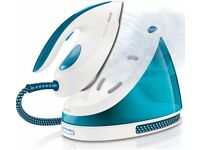PHILIPS PerfectCare Viva - GC7035 Steam Generator Iron - White & Blue