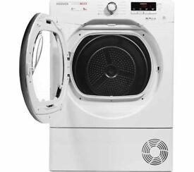 8KG HOOVER DYNAMIC NEXT C8DCG NFC 8 kg Condenser Tumble Dryer - White