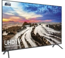 NEW SAMSUNG 75 Smart 4K Ultra HD HDR FLAT SCREEN LED Voice Control FREESAT & FREEVIEW HD