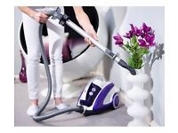 Brand new ,sealed bagless Cylinder powerful hoover curve purple Vacuum Cleaner rrp £129