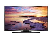 SAMSUNG 55 CURVED UHD 4K FREESAT AND FREEVIEW HD