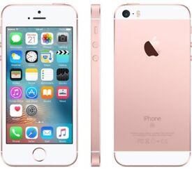 Iphone SE rose gold 16 gb