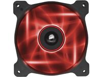 brand new Corsair Air Series AF120 LED Red Quiet Edition High Airflow 120mm Fan