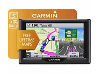 "SAT NAV by GARMIN NUVI 57LM 5"" - WITH UK & ROI MAPS - BRAND NEW BOXED - COST £89.99 - ACCEPT £70"