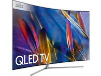 SAMSUNG 65inch CURVED SMART 4K QLED UHD TV 2017 Model
