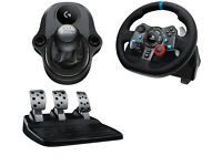 BRAND NEW Logitech Driving Force G920 OR G29 Racing Wheel, Pedals & GEARSTICK for XBONE PC PS4 PS3