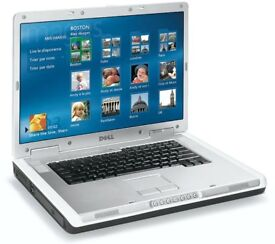 "Old 17"" Dell Inspiron 9200 Laptop - Windows 7"