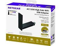 Netgear AC1200 High Gain Wifi USB Adapter