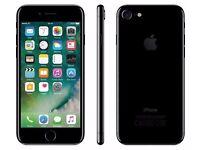 iPhone 7 128gb Jet Black - hardly used - unlocked