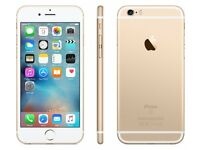 iPhone 6s gold 16GB O2 and LuMee Duo LED case - PERFECT CONDITION