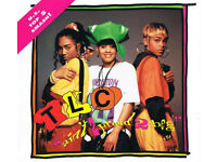 MUSIC CD TLC AINT 2 PROUD 2 BEG LOOK SINGLE 5 TRACKS US TOP 5 SMASH RADIO EDIT.*