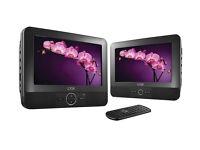 LOGIK L7TWIN11 Twin Screen Portable DVD Player