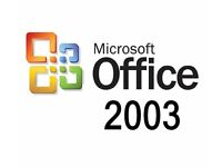 Microsoft Office Professional 2003 - Word, Excel, Powerpoint, Outlook Etc...