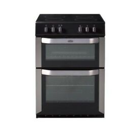 (ex display) BELLING FSE60DO Electric Ceramic Cooker - Stainless Steel