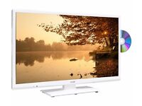 BRAND NEW TV - LOGIK L24HEDW15 - 24inch LED TV WITH BUILT-IN DVD PLAYER - COST £149.99 - ACCEPT £95