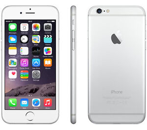 Iphone 6 locked with rogers 16 GB Silver in amazing conditions!