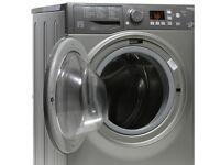 HOTPOINT Smart Washing Machine - Graphite - 9kg - Guarantee