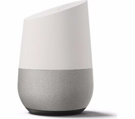 Brand New Sealed Google Home Smart Home Voice Assistant Speaker, White