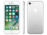 *MINT Apple iPhone 7 silver 32gb, UNLOCKED warranty boxed charger fully working