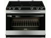RECONDITIONED!!!!ZANUSSI ZCV66030XA ELECTRIC CERAMIC COOKER - STAINLESS STEEL WITH 6 MONTHS WARRANTY