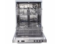 NEW never been used KENWOOD Full-size Dishwasher - Stainless Steel