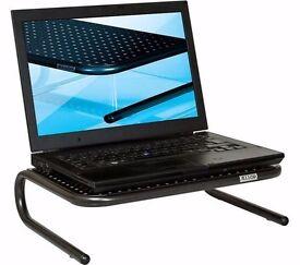 ALLSOP Metal Art Junior 06490 Monitor Stand - Black (NEW with Box)