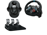 Logitech G29 Gaming Racing Wheel, pedals and Gearstick