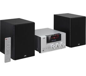 JVC UX-D427S Bluetooth/ USB/ CD /DAB/FM Traditional Hi-Fi System (RRP=£200) - Silver