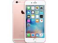 IPHONE 6S ROSE GOLD 32GB UNLOCKED - BARELY USED, EXCELLENT CONDITION