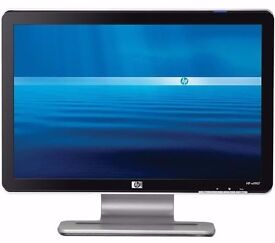 HP Pavilion W1907v 19 inch Widescreen LCD Monitor with Built in Speakers Desktop PC Computer Screen