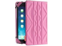 "New TECHAIR TAXUT022 Folio Flip & Reverse 7"" Tablet Case Pink & Purple Was: 19.99"