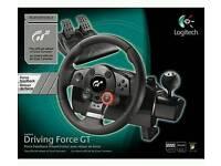 Logitech driving force GT steering wheel (PC3 /PC)