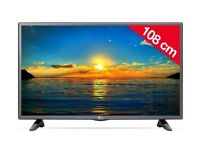 Brand new LG 43 inch LED TV with Freesat HD & Freeview HD