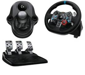 Logitech G29 Pedals/Wheel/Shifter * Boxed *