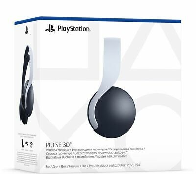 Sony Playstation 5 Pulse 3D Wireless Headset - White