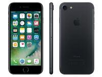 iphone 7 black 32gb any network