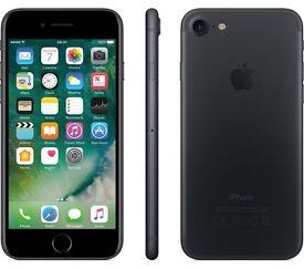 Brand New iPhone 7 black 128GB unlocked