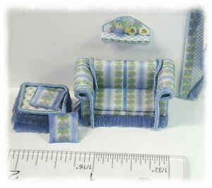 KIT-Blue-Iris-Couch-amp-Ottoman-Pillows-Shelf-kit-1-4-034-1-48-designed-by-J-Day