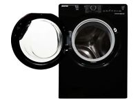 HOOVER Dynamic Washer Dryer - Black 8+5kg with Silver door-NEW