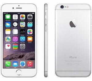 iPhone 6 64GB Silver UNLOCKED ( including Wind / Freedom and Chatr ) MINT 10/10 $440 FIRM