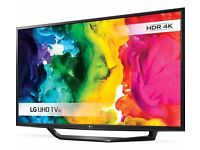 new 4K HDR led TV LG 49""