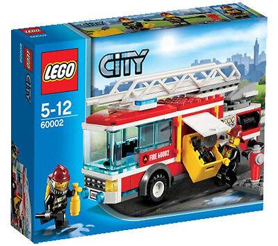 Außerhalb Spielzeug (LEGO CITY 5-12 JAHRE FEUERWEHRAUTO FIRE TRUCK ART 60002 SELTENE AUßERHALB)