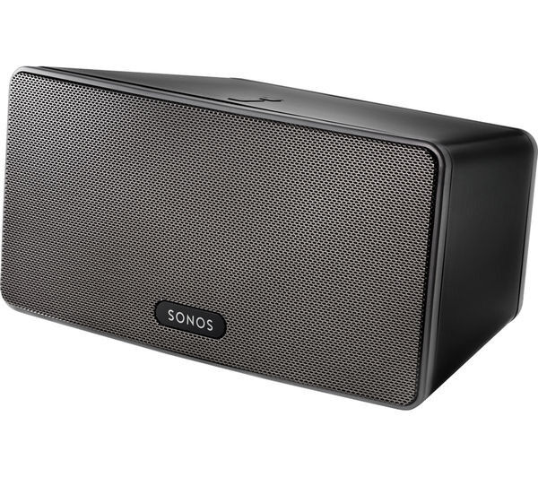 SONOS PLAY3 - BLACK - BOXED - AS NEW