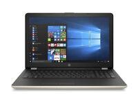 *NEW* HP 15 LAPTOP 4GB RAM 1TB HDD WEBCAM HDMI OFFICE AMD 2.50GHZ 15.6 Inch ANTIVIRUS 12 MTHS WRNTY