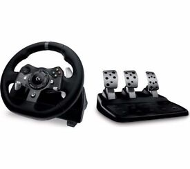 Logitech Driving Force G920 Racing Wheel & Pedals for Xbox Xbone PC FORZA