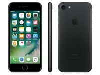 iPhone 7, 32gb, immaculate condition, black.