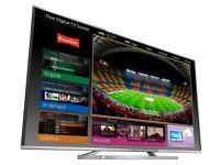 Panasonic Tx-40as640b 40 Inch Full HD 1080p Smart 3d LED TV Freetime WiFi